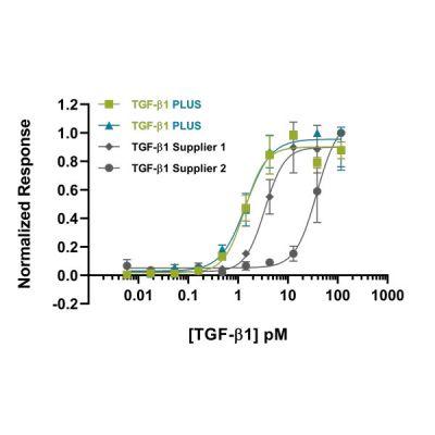 human-TGFb1-PLUS- Qk010 protein bioactivity lot #104273