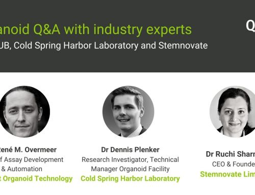 Organoid Q&A with industry experts from the HUB, CSHL and Stemnovate