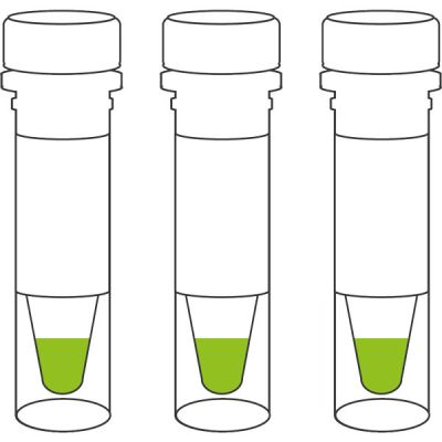 optional add carrier protein to vial