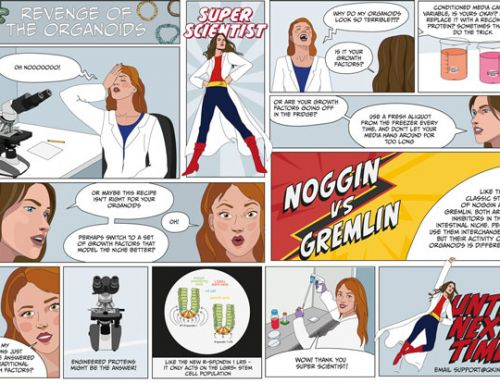 Revenge of the Organoids – Super Scientist saves the day
